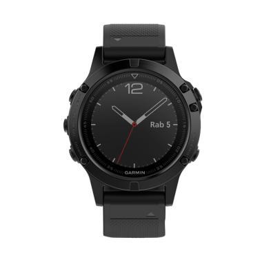 Garmin Fenix 5 Sapphire Multisport GPS Smartwatch - Black