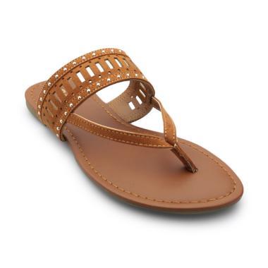 Bata Ladies 5914027 Diya Sandal Wanita - Brown