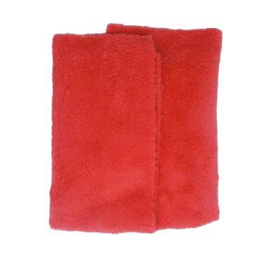 Korean Microfiber Edgeless Ultra Plush Double Side Alat Pembersih - Red [400 GSM]