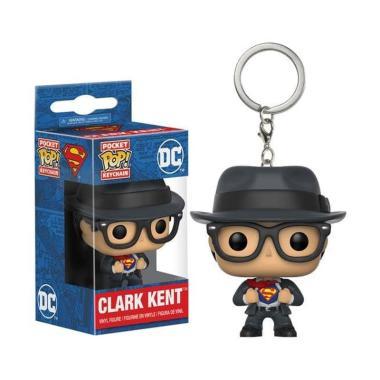 Funko Pocket POP! Heroes DC Comics Superman Clark Kent Keychain