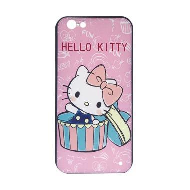 harga JV ACC Fuze Motif Hello Kitty Kode 3 Silikon Casing for iPhone 6 Blibli.com