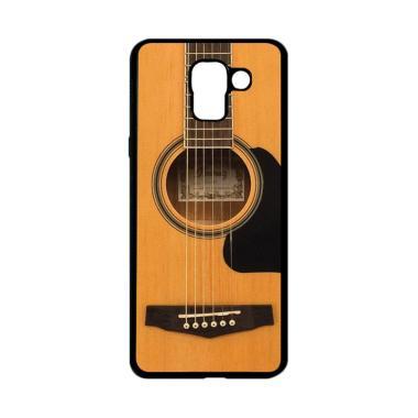 harga CARSTENEZIO Motif Unik Gitar Akustik 2 Softcase Casing for Samsung Galaxy J6 - Hitam Blibli.com