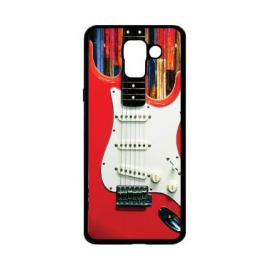 harga CARSTENEZIO Motif Unik Gitar Listrik 3 Softcase Casing for Samsung Galaxy J6 - Hitam Blibli.com