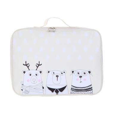 Homestuff Polar Bear Mini Koper Tas Travel Organizer