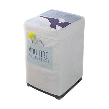 harga HomeStuff Type A Premium Cover Mesin Cuci 1 Tabung - Dolphin Blibli.com