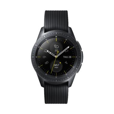 harga Samsung Galaxy Watch 42mm Gear S4 RM-R810 - Midnight Black - Baru NEW - Resmi SEIN Blibli.com