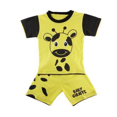 Dessan Animal Face Giraffe Baju Setelan Anak Laki-Laki