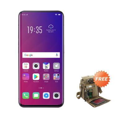 OPPO Find X Smartphone [256GB/ 8GB] + Free Tas Slempang Keren