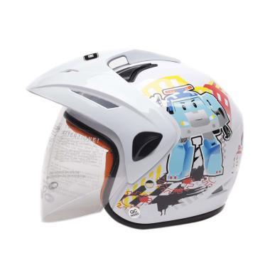 harga WTO Helmet Kids Pet Robocar Poli Helm Anak Blibli.com