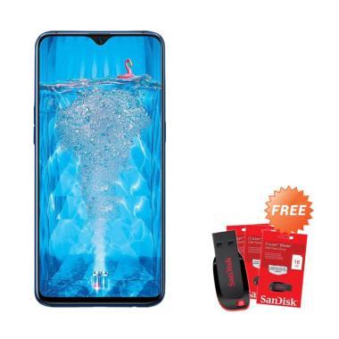 harga OPPO F9 Pro Smartphone + Free Flashdisk Sandisk 16 GB Blibli.com