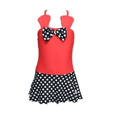 Lasona SW-M3219J-L0768 Baju Renang Anak Perempuan - Black