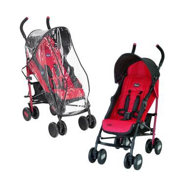 harga Exclusive Items 10.10 - Chicco Echo Twin Stroller Garnet Blibli.com