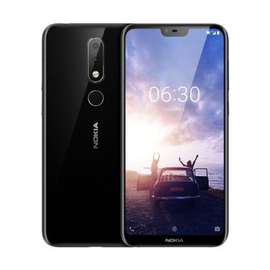 Nokia 6.1 Plus Smartphone - Black [4 GB/ 64 GB]