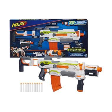 Hasbro ECS-10 Nerf N-Strike Modulus Blaster Permainan Aksi [Original]
