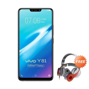 VIVO Y81 Smartphone - Hitam [16GB/ 3GB] + Free Headphone