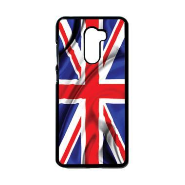 harga HEAVENCASE Motif Bendera Inggris 04 Casing for Xiaomi Pocophone F1 - Hitam Blibli.com