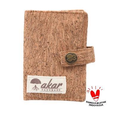 Akar Craft Dompet Kartu for Unisex - Coklat