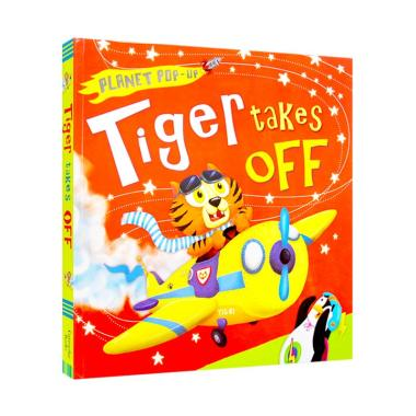 harga Caterpillar Books Planet Pop-up Tiger Takes Off Pop-up Book Buku Anak Blibli.com