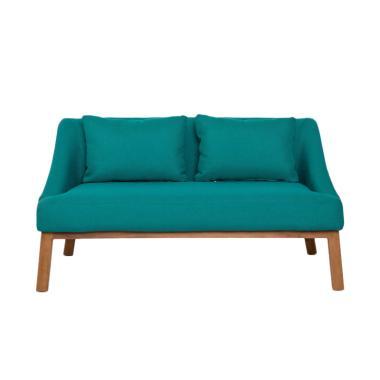 Fabelio Taylor Mans Field Sofa - Aqua Green [2 Seat]