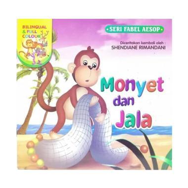 harga Bintang Indonesia Seri Fabel Aesop Monyet dan Jala Buku Cerita Anak Blibli.com