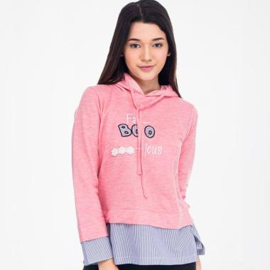Metalizer Clothing M18431181 Sweater Wanita - Pink