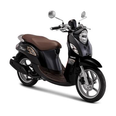 harga Yamaha New Fino Premium 125 Blue Core Sepeda Motor [VIN 2019- OTR Jawa Barat] Blibli.com
