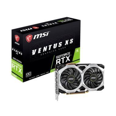 MSi GeForce RTX 2060 Ventus XS 6G OC Graphics Card [6GB/ GDDR6]