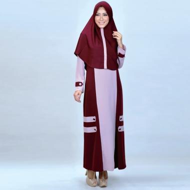 Azzurra 645 21 Setelan Gamis Muslim Wanita