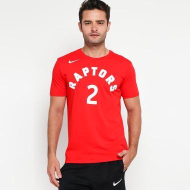 ab459ed72 NIKE Men Basketball Toronto Raptors Kawhi Leonard Dry Tee T-Shirt Basket  Pria  870811-668