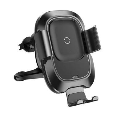 Baseus Smart Vehicle Bracket Car Wireless Charger - Black