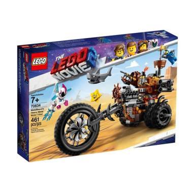 harga LEGO The Lego Movie 2 70834 MetalBird's Heavy Metal Motor Trike Blocks & Stacking Toys Blibli.com