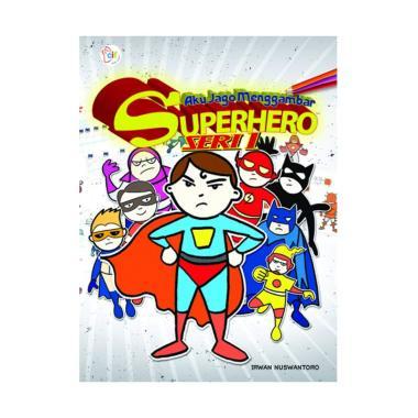 harga Cerdas Interaktif Buku Indonesia - Aku Jago Menggambar Superhero Seri 1 Buku Gambar & Mewarna Blibli.com