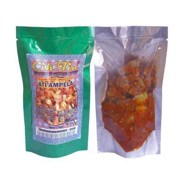harga CIK'TIN Ati Ampela Sambal Mercon Makanan Instan [150 g] Blibli.com