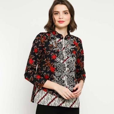 Model Baju Batik Atasan Wanita Kantor Terbaru 2019 Bliblicom