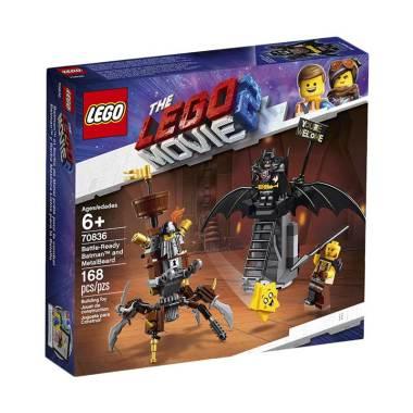Lego 2 And Batman Blocksamp; Battle 70836 Ready Toys Movie Stacking Metalbeard iXOTPkZu