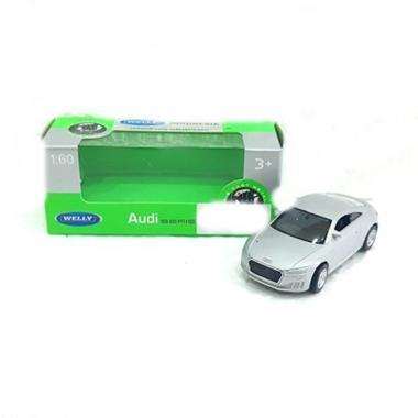 Welly 52346W TT 2014 Audi Diecast - Silver