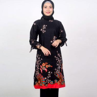 Batik Nawa Kartika Motif Kipas Tunik Batik Wanita
