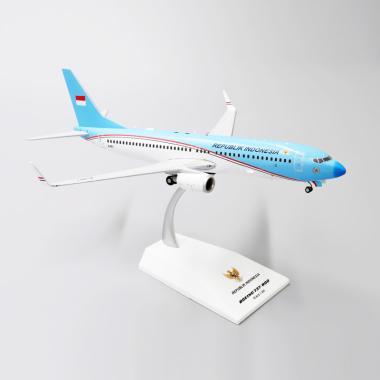 OEM Pesawat Kepresidenan RI 1 BBJ2 Diecast [1:200]
