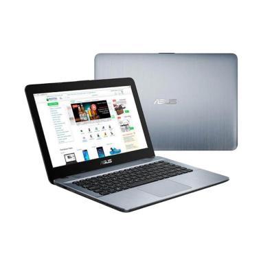 harga Asus X441UA Laptop - Silver [GA312T-I3-7020U/1TB/4G DDR4/ WIN 10 home/ODD/14