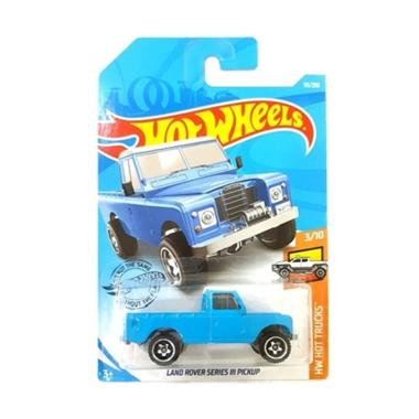 HOT WHEELS LAND ROVER SERIES III PICKUP BLUE 19
