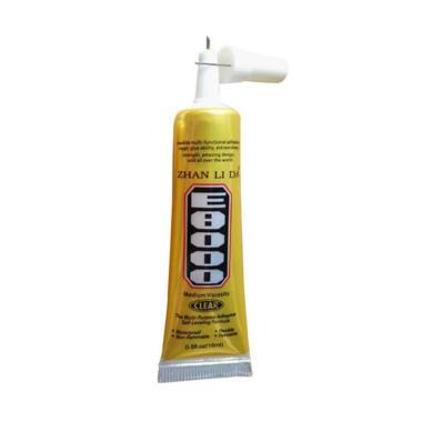 harga Bluelans E8000 Clear Adhesive DIY Craft Phone Screen Jewelry Repair Sealant Glue [15 mL] Blibli.com