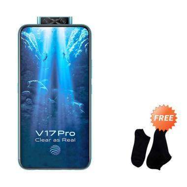 harga VIVO V17 Pro Smartphone [128GB/ 8GB] + Free Kaos Kaki 7 Pasang WHITE Blibli.com