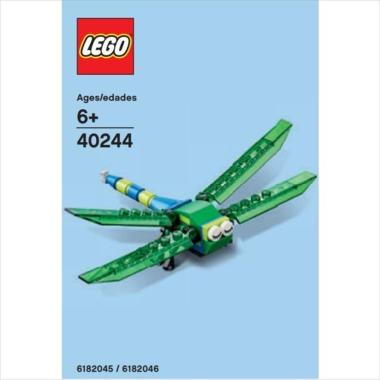 LEGO Polybag 40244 Monthly  Mini Model : Dragonfly