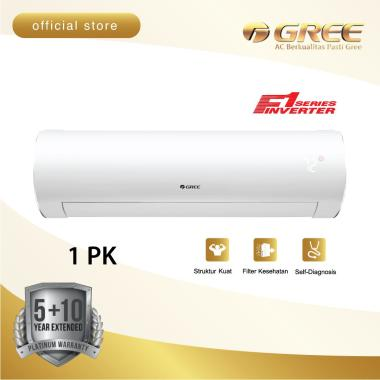 harga AC GREE 1 PK GWC-09F1 INVERTER - WHITE PEARL [INDOOR+OUTDOOR UNIT ONLY] Blibli.com