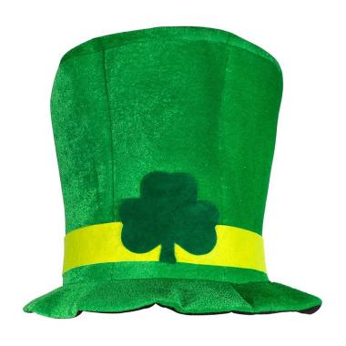 harga Bluelans Irish St Patrick Day Green Shamrock Velvet High Top Hat Party Adult Cap Costume Blibli.com