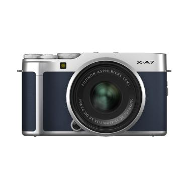 Pre Order - FUJIFILM X-A7 Kit XC 15-45mm Kamera Mirrorless with SDHC Extreme 32GB + Free Leather Half Case X-A7, Joby Telepod Pro 1K, NP-W126S