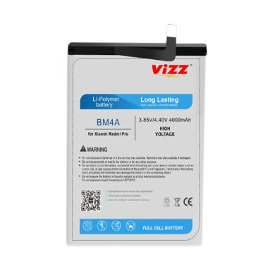 harga Vizz BM4A Baterai Handphone for Xiaomi Redmi Pro [Original] Blibli.com