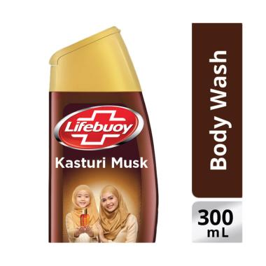 WHS - LIFEBUOY Kasturi Musk Sabun Cair [300 mL/ Botol]