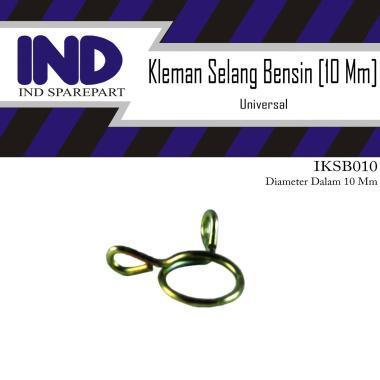 harga IND Onderdil Kleman-Keleman-Klip-Clip Selang-Slang Bensin Diameter Dalam 10 Mm KUNING Blibli.com
