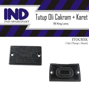 harga IND Onderdil Tutup Penutup Master Rem Atas Oli Cakram Plus Karet Seal Set RX King RXKing RXK Lama Old HItam